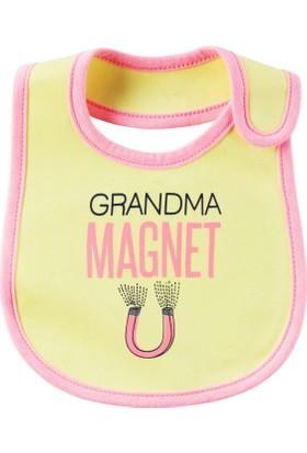 Carter's Layette Kız Bebek Önlük 126G616