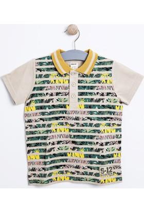 Soobe Erkek Çocuk T-Shirt Ekru