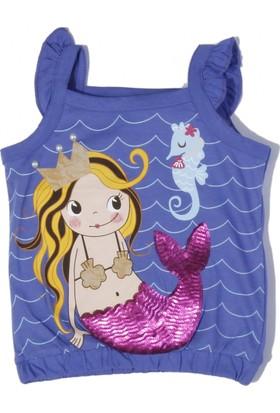 Soobe Mermaid Kız Çocuk Kolsuz T-Shirt Parlement