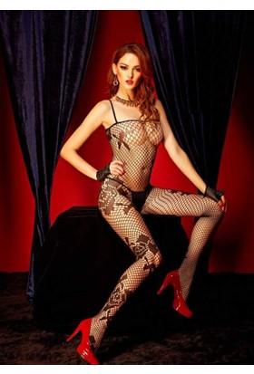 Missvera 6409 Fantazi Vücut Çorabı M