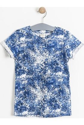 Soobe Dark Night Kısa Kol T-Shirt Lacivert