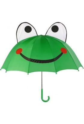 Kidorable Çocuk Şemsiyesi - Kurbağa