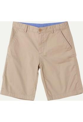Lacoste Erkek Çocuk Standard Fit Bermuda Kahverengi FJ79401