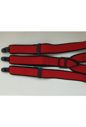 Kemer Sepeti Kırmızı Pantolon Askısı