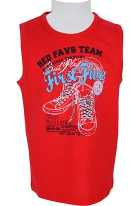 Zeyland Erkek Çocuk Kırmızı Atlet - 71KL1754