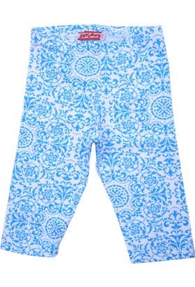 Zeyland Kız Çocuk Mavi Kısa Tayt - 71KL5211