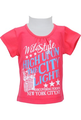 Zeyland Kız Çocuk Fuşya T-shirt - 71KL5251