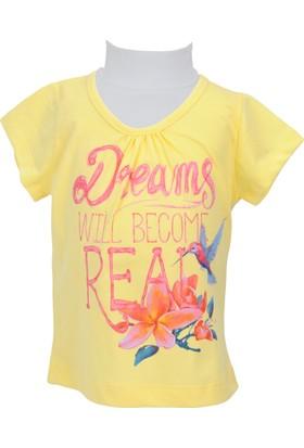 Zeyland Kız Çocuk Sarı T-shirt - 71KL5251