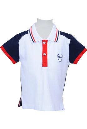 Zeyland Erkek Çocuk Beyaz Polo Yaka T-Shirt - 71M1MNF54