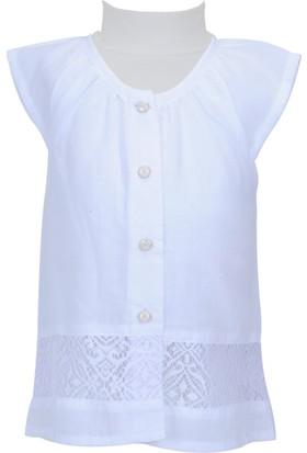 Zeyland Kız Çocuk Beyaz Gömlek - 71M2PFA81