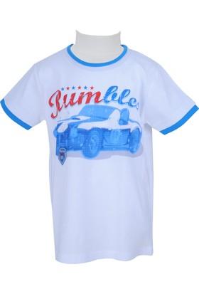 Zeyland Erkek Çocuk Beyaz T-shirt - 71M3DRF55