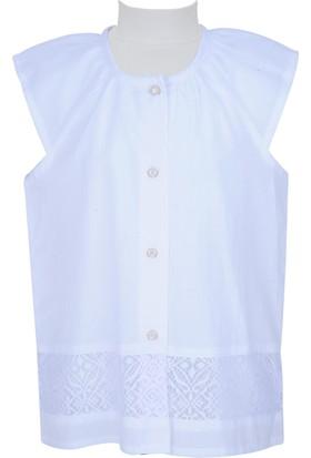 Zeyland Kız Çocuk Beyaz Gömlek - 71M4CFA81