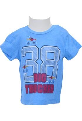 Zeyland Erkek Çocuk Mavi T-shirt - 71Z1MTJ53