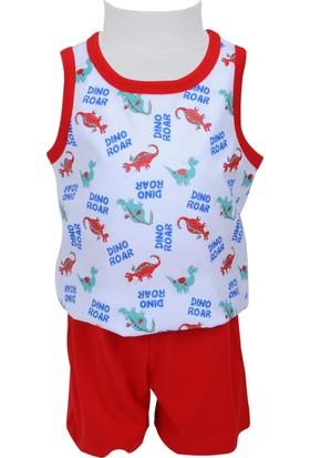 Zeyland Erkek Çocuk Kırmızı Pijama Takımı - 71Z1PJM110