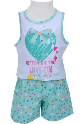 Zeyland Kız Çocuk Yeşil Pijama Takımı - 71Z2PJM201