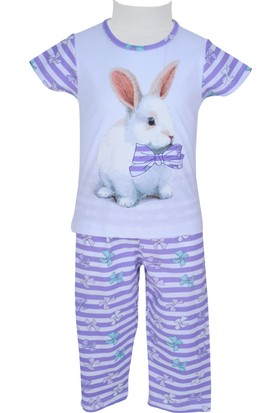 Zeyland Kız Çocuk Lila Pijama Takımı - 71Z2PJM203