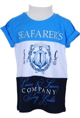 Zeyland Erkek Çocuk Mavi T-shirt - 71Z3LKN51