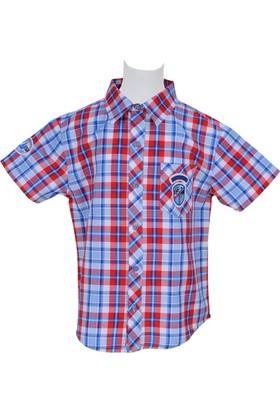 Zeyland Erkek Çocuk Mavi Gömlek - 71Z3LKN81