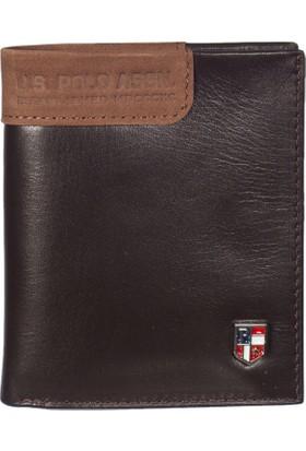 U.S. Polo Assn. Erkek Cüzdan Plcz7617 Kahve