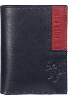 U.S. Polo Assn. Erkek Cüzdan Plcz7624 Lacivert
