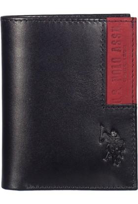 U.S. Polo Assn. Erkek Cüzdan Plcz7625 Siyah