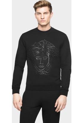 Guice Paris Versace Embellıshed Medusa Head Sport Top Model Erkek Sweatshırt
