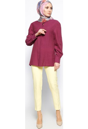 Klasik Pantolon - Sarı - Missmira