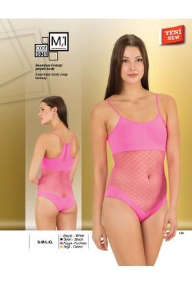 Emay Seamless (Dikişsiz) Fantazi Çıtçıtlı Body - 5041