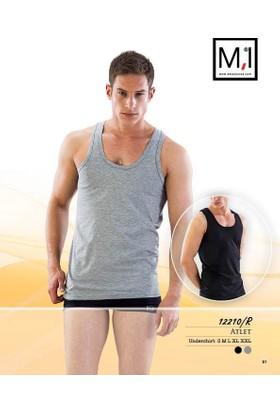 Emay Kolsuz Renkli Erkek Atlet - 12210R