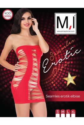 Emay Seamless (Dikişsiz) Erotik Elbise - 5099