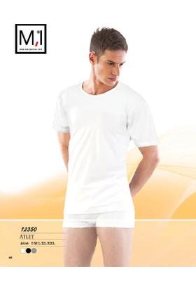 Emay Yarım Kollu Sıfır Yaka Erkek Atlet - 12350