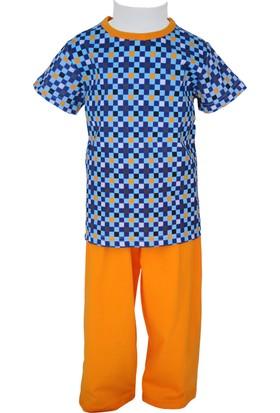 Zeyland Erkek Çocuk Turuncu Pijama Takımı - 71Z3PJM115