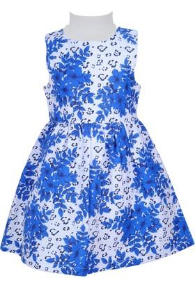 Zeyland Kız Çocuk Desenli Elbise - 71Z4DZN31