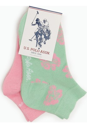 U.S. Polo Assn. Flora Çorap