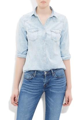 Mavi Kadın Melissa Açık Mavi Jean Gömlek