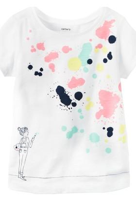Carter's Kız Bebek Tshirt 235G785