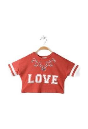 Koton Kids T-Shirt - Kırmızı