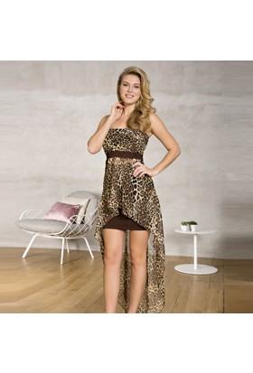 Anıl 9384 Uzun Transparan Etek Yazlık Bayan Giyim