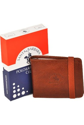 Polo & Racquet Club Lastikli Taba Spor Deri Kartlık Cüzdan
