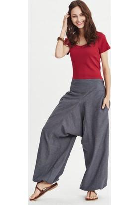 Los Banditos Kadın Gri Yoga Pantolon P255