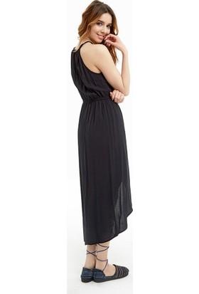 Los Banditos Kadın Siyah Lipe Elbise E49