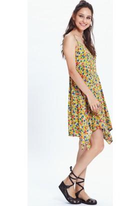 Los Banditos Kadın Sarı Datça Elbise E57