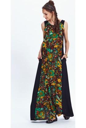 Los Banditos Kadın Renkli Hera Elbise E58