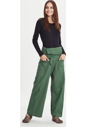 Los Banditos Kadın Yeşil Balıkçı Pantolon P08