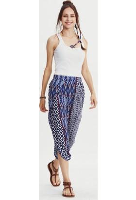 Los Banditos Kadın Mavi Kelebek Pantolon P09