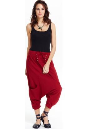 Los Banditos Kadın Kırmızı Rio Pantolon P20
