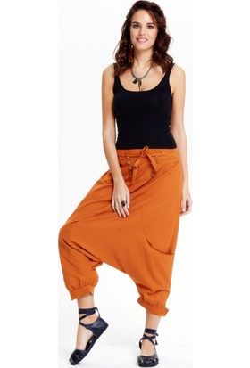 Los Banditos Kadın Hardal Rio Pantolon P20