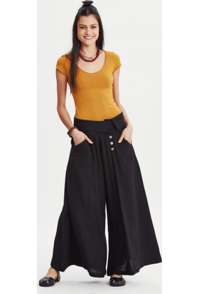 Los Banditos Kadın Siyah Goa Pantolon P27