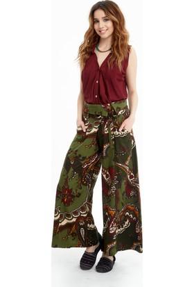 Los Banditos Kadın Yeşil Goa Pantolon P27