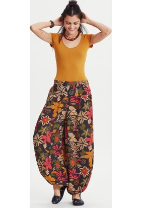 Los Banditos Kadın Çiçek Cunda Pantolon P33